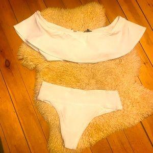 WOW Couture white bikini